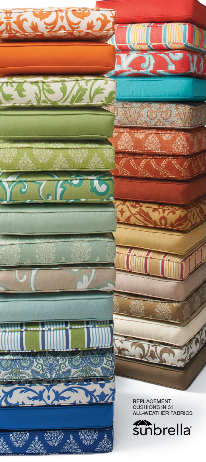 Design Nashville is an authorized dealer of Sunbrella Fabrics, the most comprehensive designer fabrics for outdoors.
