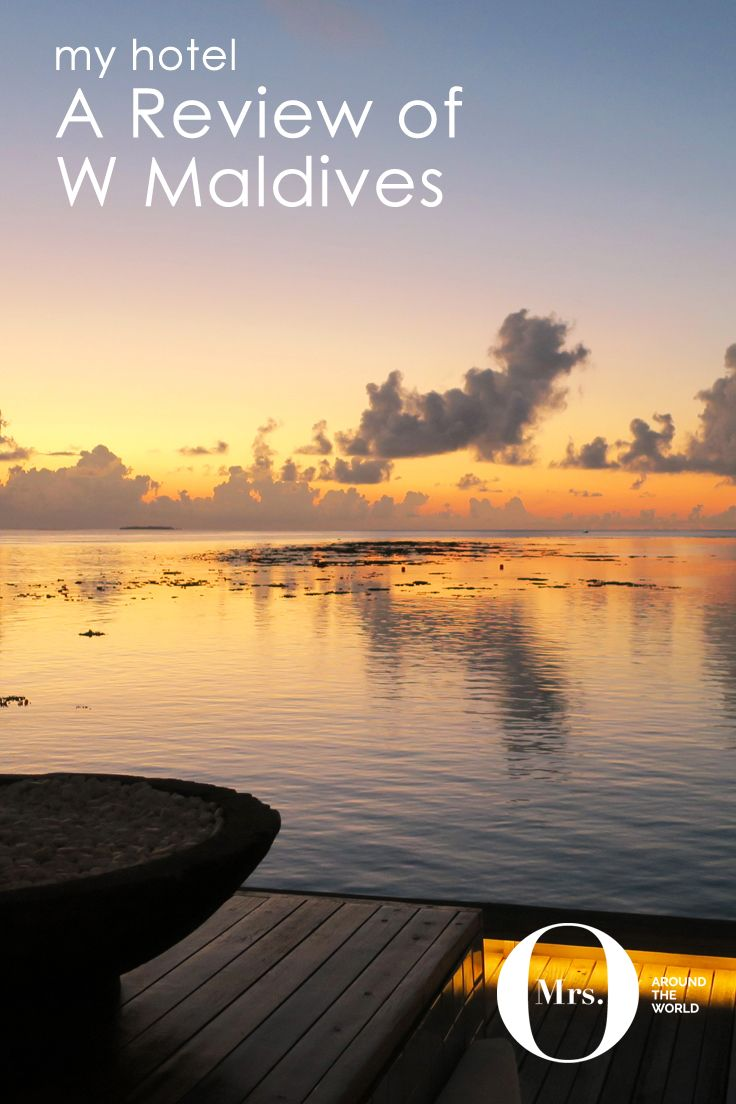 The Maldives is, without a doubt, my favorite place in the world. This time I spent time at the W Maldives. The sunsets are beautiful, everything is effortless, and very personal. The beach villas are quite different from other resorts I had visited in the past, and they had 2 floors, which was indeed special. The very secluded and private beach villas come with a private pool and direct beach access.