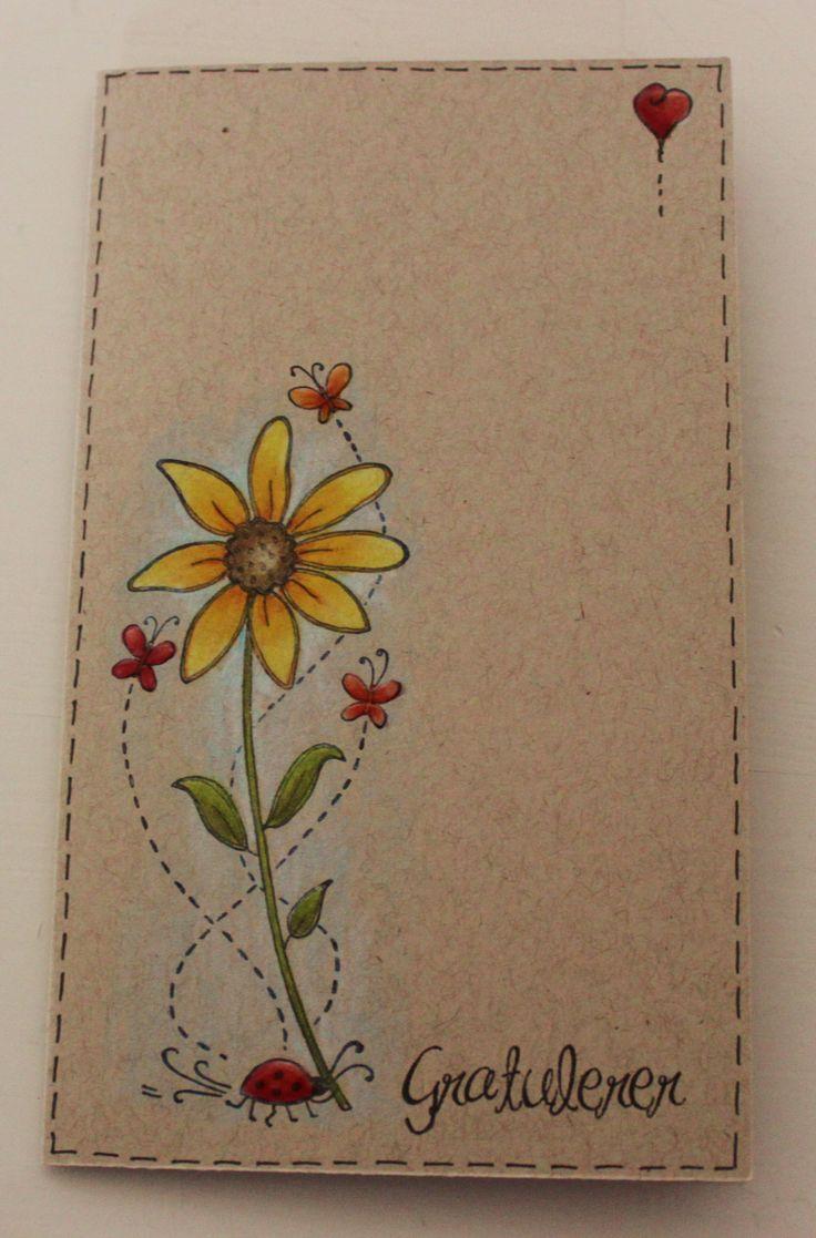 Прикольные картинки, как нарисовать цветы для открытки своими руками
