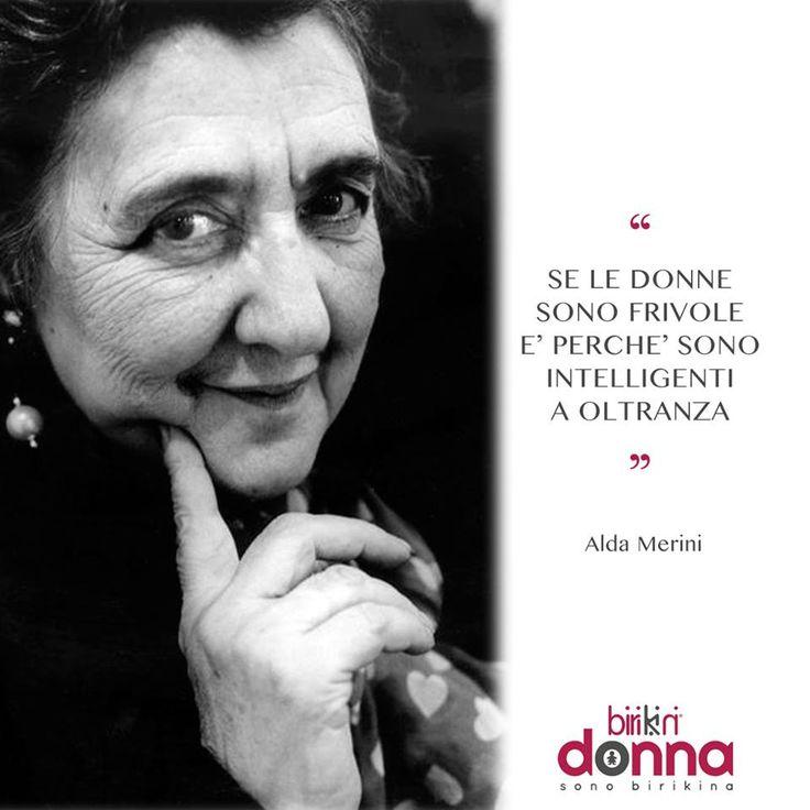 """"""" Se le donne sono frivole è perché sono intelligenti a oltranza""""Condividi anche tu con i tuoi amici le frasi che più ti rappresentano!#sonobirikina #birikinidonna"""