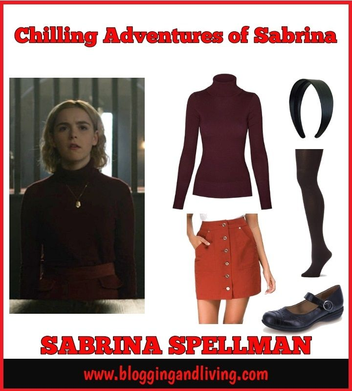 Rock this Chilling Adventures of Sabrina outfit. The