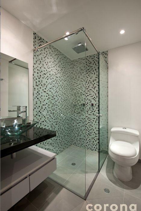 Mosaicos para enmarcas la zona de ducha corona inspira for Duchas grival corona