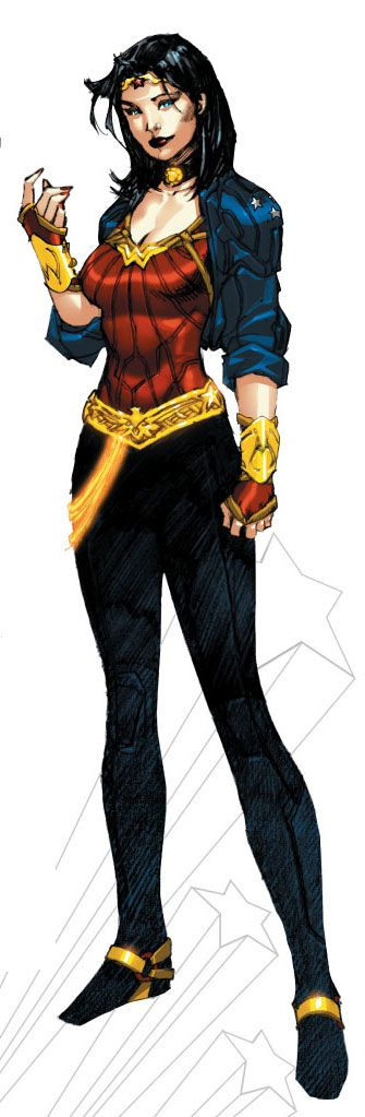 Again, I submit WW looks like one of the X-men in this outfit. I think I have those exact same pants, too.