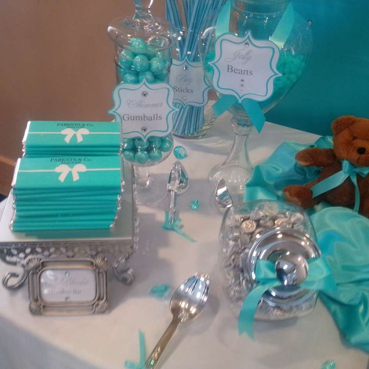 Superb TIFFANY U0026 CO Baby Shower Party Ideas