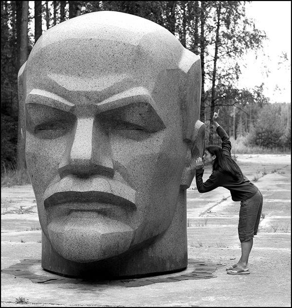 Голова Ленина, Алуксненский район, Латвия