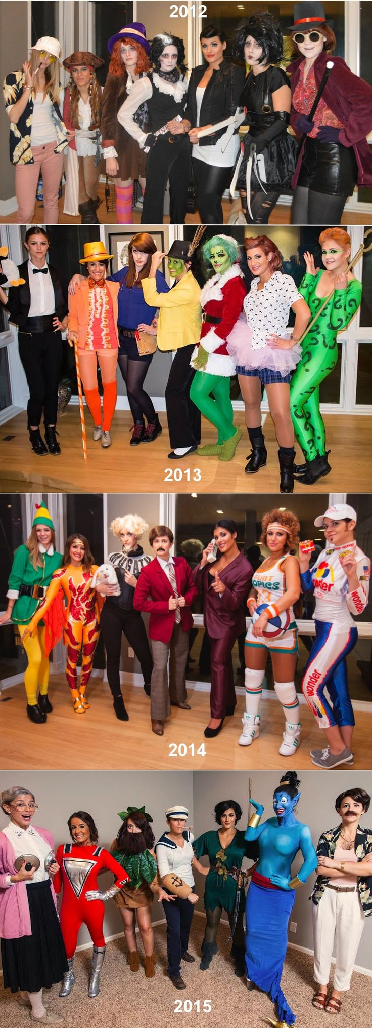 Costume ideas for groups - Group Costumes Imgur