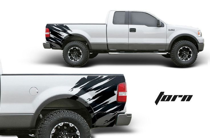 Graphics For Black F Bed Graphics Wwwgraphicsbuzzcom - Truck bed decals custom