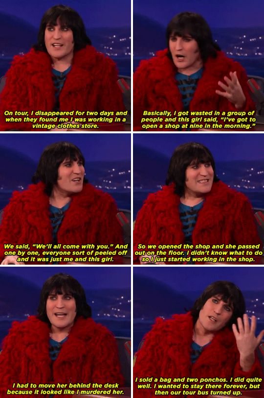 """I basically look like Florence and the Machine if she had a hangover."""