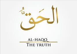 "AL-HAQQ, The Truth.  ""Allah is the Truth"".  Jesus is the Word of Allah.  Jesus is the Spirit of Allah. What Islam Really Teaches About Allah and Jesus.  Melayu Bukan Islam"