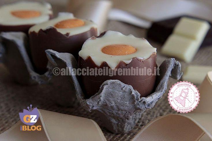 Le uova alla coque dolci sono facili veloci e golosissime. I bambini si divertiranno a prepararle e a regalarle ai nonni e agli amichetti.