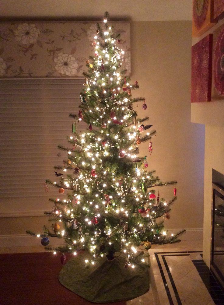 Corner Christmas Trees Slim
