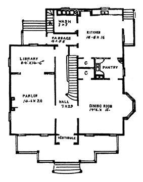141 best floor plans images on pinterest apartment floor for Historic home floor plans