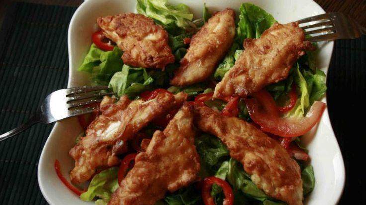 Fokhagymás csirkemellcsíkok, különleges panírban! Nagyon nagyon ízletes!! – mindenegybenblog.com