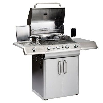 Outback Professional 4 Burner Gas BBQ inc. Cover - 2013 Model