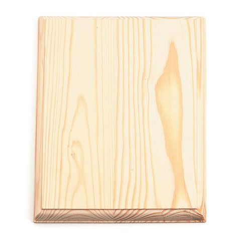 ConsumerCrafts Product 7 x 9 inch Rectangle Unfinished Wood Plaque $1.97