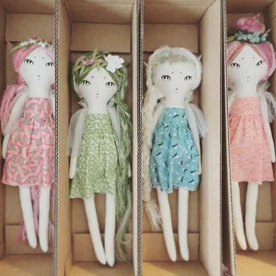 Custom Forest Creature Doll DEPOSIT - made to order hairloom doll