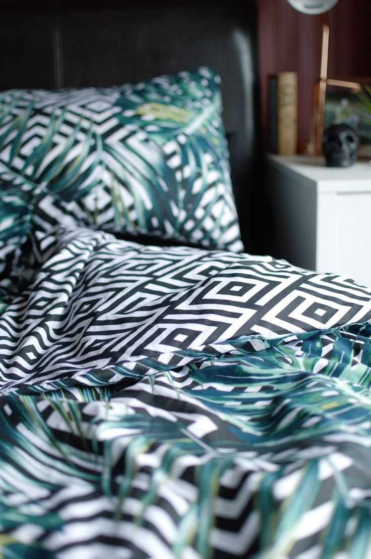 Primark homeware haul - geometric and tropical botanical print bedding!