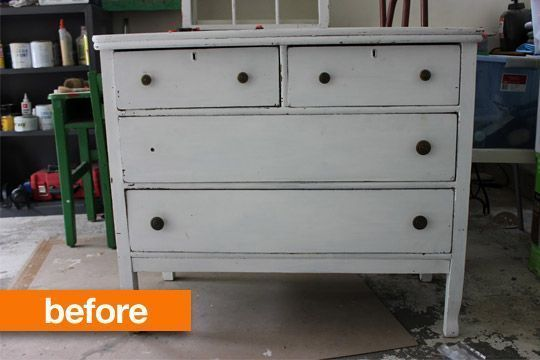 Before & After: Craigslist Dresser Gets a MakeoverMy Passion for Decor – – #Crai…