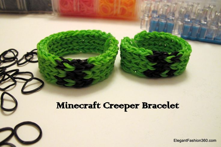 minecraft loom bands - Google Search