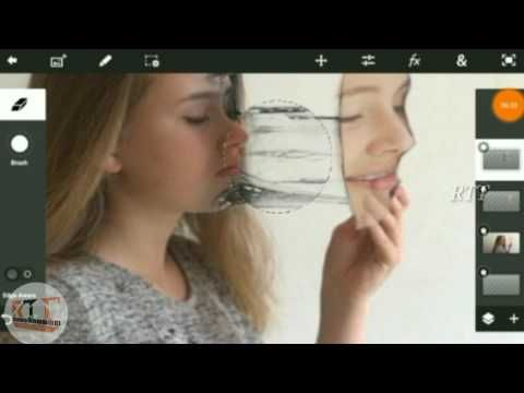 Fack image create - Photoshop touch for picture editing