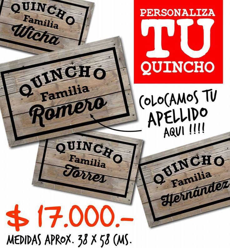 Perosonaliza tu quincho con estos originales carteles con - Carteles originales ...
