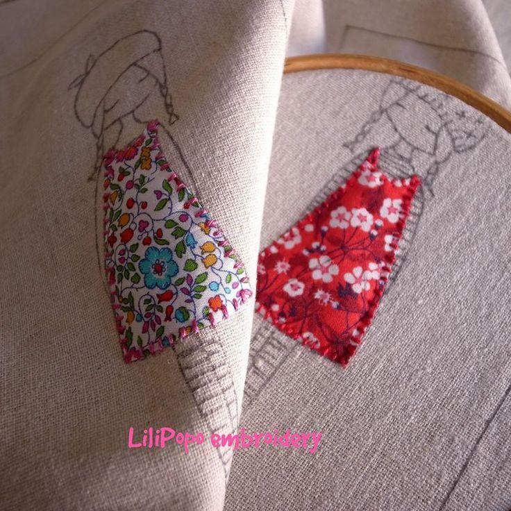Dresses stitched