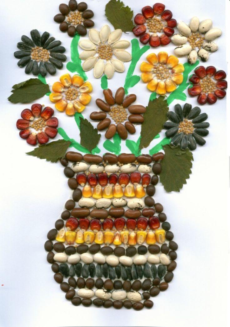 Vaza cu flori - seminte | Didactic.ro