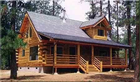 Shady Cove Log Home Model By Homestead Log Homes Log