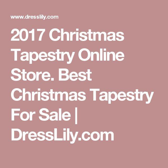 2017 Christmas Tapestry Online Store. Best Christmas Tapestry For Sale | DressLily.com