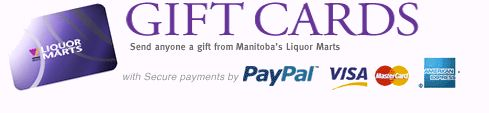 Gift Cards | Manitoba Liquor Mart