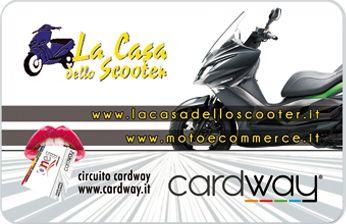 La Casa dello Scooter - Attività Convenzionata CardWay.Siamo a Napoli,Quartiere Vomero, in Via Paisiello 28/40.
