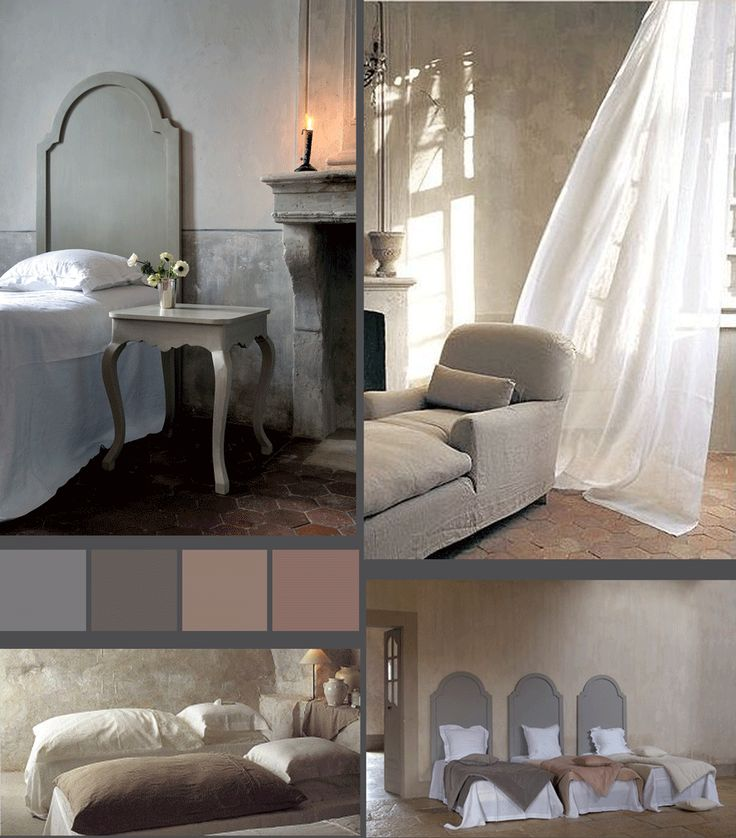 Sublime Cote Bastide beds - such a simple headboard but so effective.