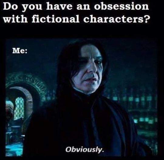 If Snape is speaking I read it in his voice, anyone else do this?
