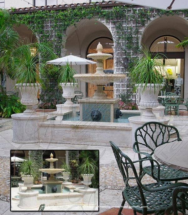 italian courtyard designs | Italian Marble Designs