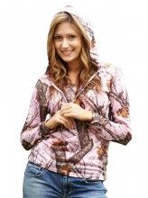 Mossy Oak Hoodies - Pink Camo For Women. Gonna buy this too!