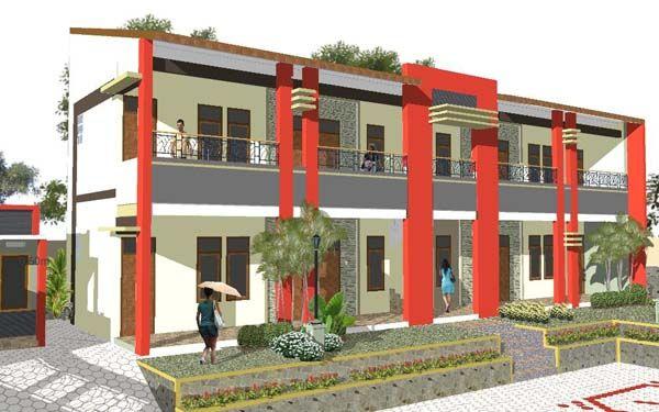 Desain Rumah Kost Minimalis Hub. 0817351851 | www.kontraktor-bali.com