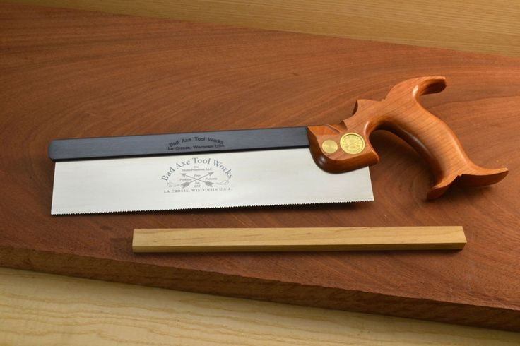 Bad Axe Dovetail Saw 10in 15ppi Rip