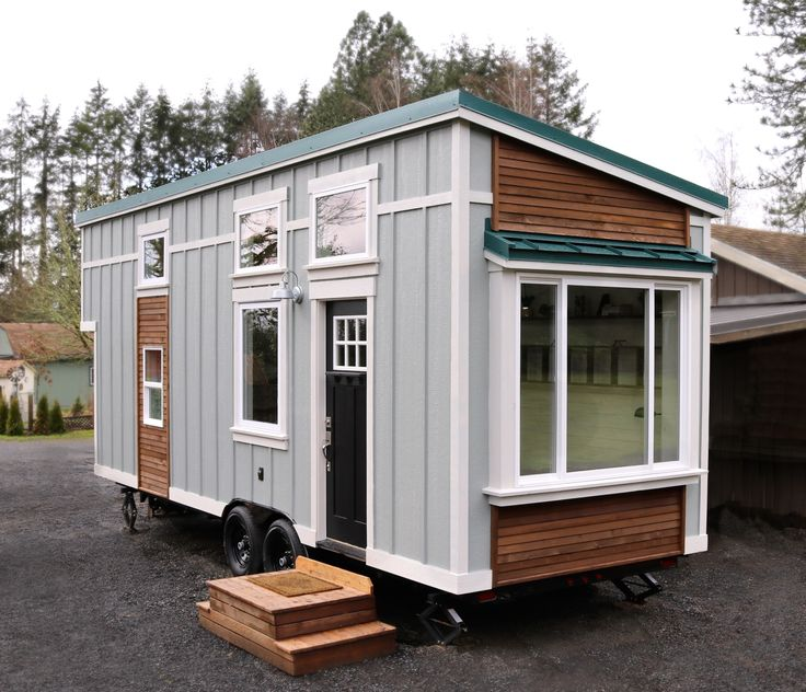 Our Team Of Craftsmen At Handcrafted Movement Present Latest Tiny Home Exterior Features