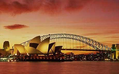 Sydney Harbour.