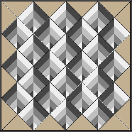 strip pieced blocks