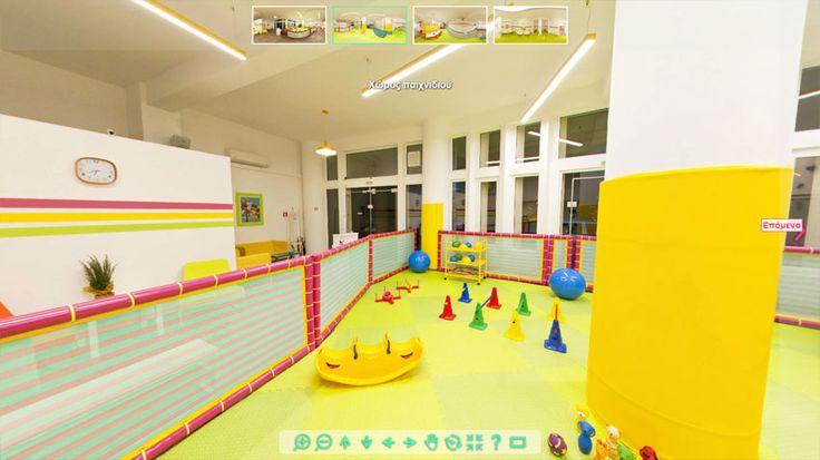Δημιουργία εικονικής περιήγησης 360 για το κέντρο παιδικών δραστηριοτήτων Παιχνιδολόγιο