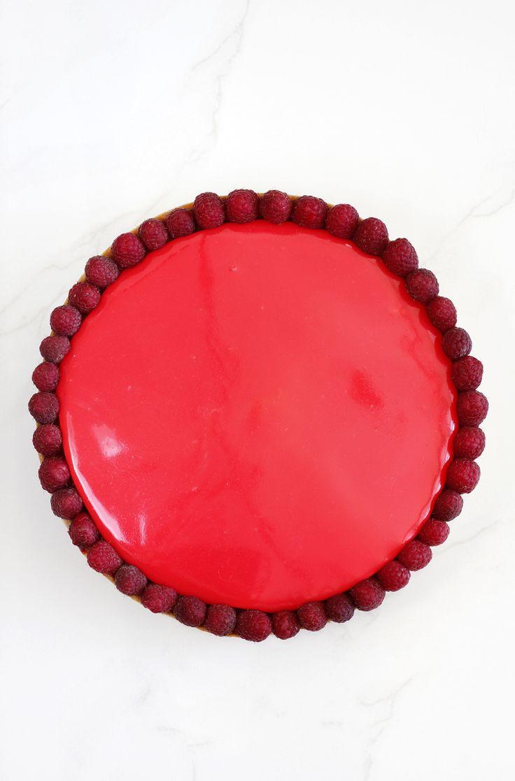 Raspberry and White Chocolate Tart