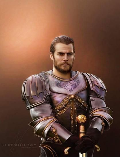 My knight in shining armor. Hot Damn!