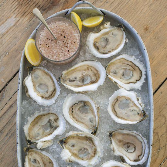 """Great oysters are delicious """"naked,"""" as Island Creek founder Skip Bennett says, but sometimes chef Jeremy Sewall dresses them up with a mignonette (vinegar sauce) like this one, made with sparkling rosé. More Mollusk Recipes"""