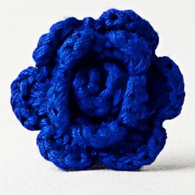Blue.: Lapel Flowers