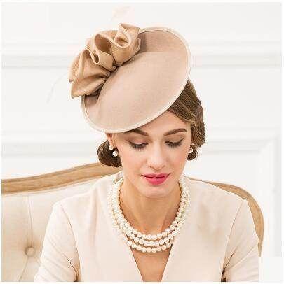 Womens flower pillbox hat for autumn wool fascinator hats  d442701b71db
