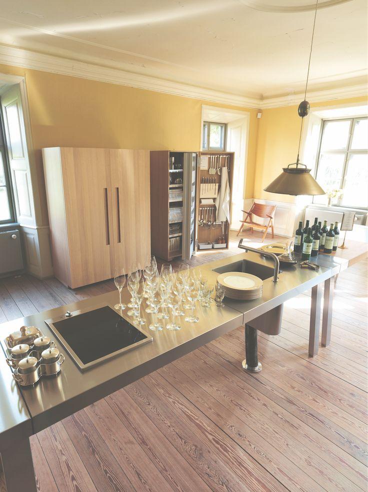 29 best b2 l 39 atelier de cuisine images on pinterest for Bulthaup cuisine