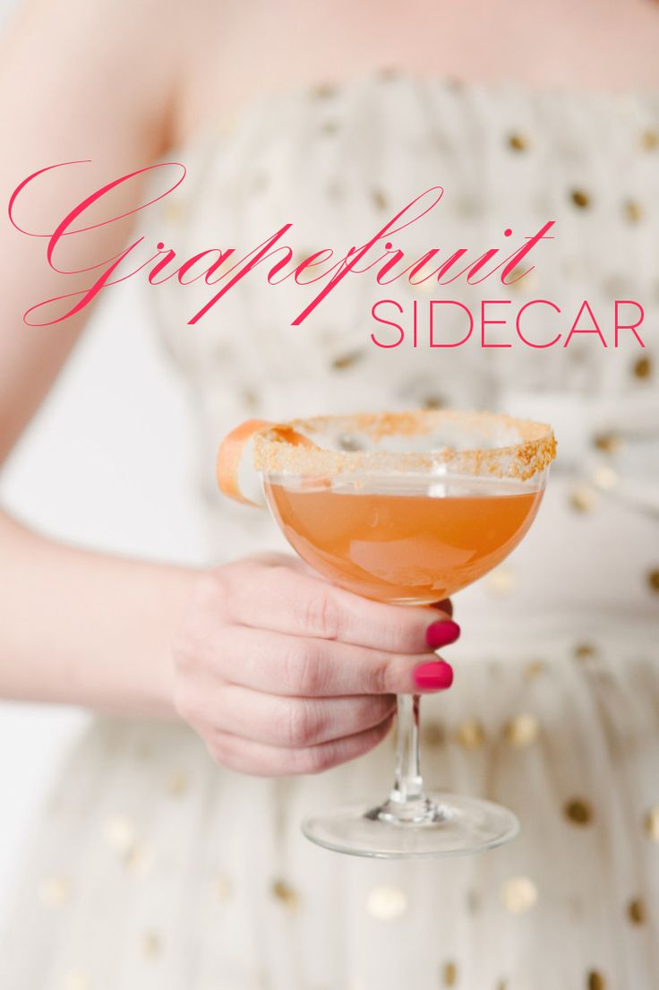 Pitcher Cocktails: The Grapefruit Sidecar | A Practical Wedding