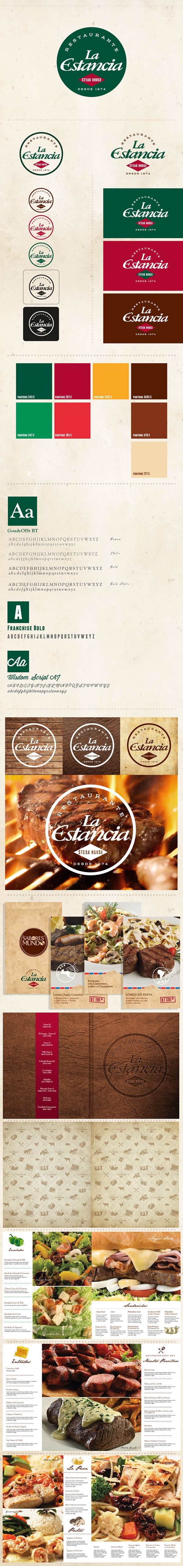 ReBranding La Estancia on Behance
