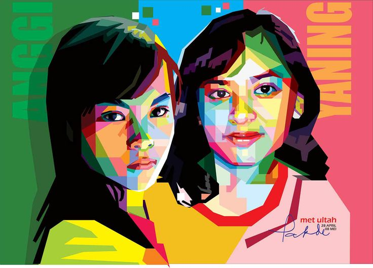 Beloved Nephew in WPAP (Wedha's Pop Art Portrait) Indonesia on Behance